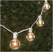 Clear Patio String Lights Patio String Lights White Cord The Best Option Tm 25