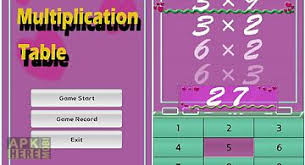 Multiplication Table Games by M Multiplication Table For Android Free Download At Apk Here Store