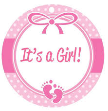 baby shower for girl baby shower clipart girl border clipartxtras
