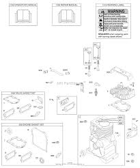 briggs and stratton 094202 0115 e1 parts diagram for cylinder