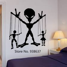 popular teen wall stickers home decor buy cheap teen wall stickers allien ufo people puppets wall stickers teens boy bedroom vinyl wall decal living room creative home