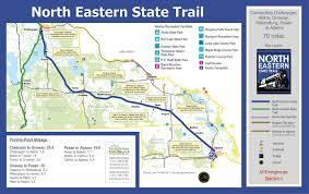 Lake Michigan Shipwrecks Map by North Eastern State Trail U2013 Cheboygan Area Trailways