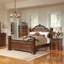 Bedroom Sets Traditional Style - post bedroom sets quinden low post bedroom set bedroom sets