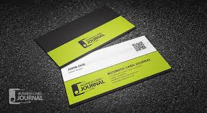 Business Card With Qr Code Professional Corporate Qr Code Business Card Template