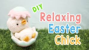 Easter Decorations Sewing by Diy Relaxing Easter Plush Kawaii Easter Decoration Animal