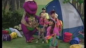 Barney Backyard Show Video Barney U0026 The Backyard Gang Barney U0027s Campfire Sing Along