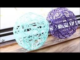 diy string yarn balls