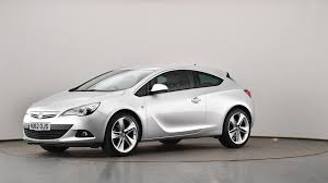 used vauxhall astra gtc 1 6t 16v sri 3dr silver nu62ojs cardiff