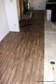 Laminate Flooring Not Clicking Together Flooring The Weekend Country