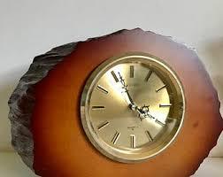 vintage seiko clock etsy
