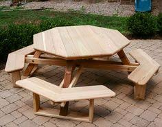 Woodworking Plans And Project Ideas Octagon Picnic Table Plans by Octagon Picnic Table Plan Octagon Picnic Table Picnic Table