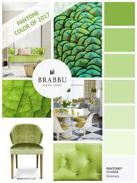 how to decorate with greenery pantone color of the year 2017