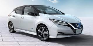 nissan minivan 2018 nissan leaf 2018 review carwow