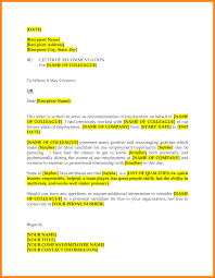 co worker reference letter image collections letter format examples