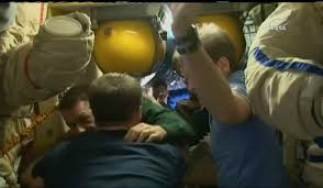 soyuz ms 02 with three crew members departs iss ahead of afternoon
