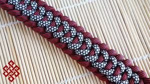 woven weave paracord bracelet images How to make a trilobite jawbone paracord bracelet tutorial jpg