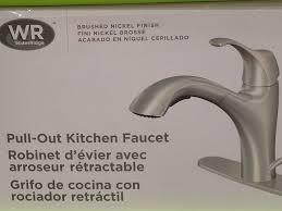 platinum waterridge kitchen faucet parts wall mount two handle