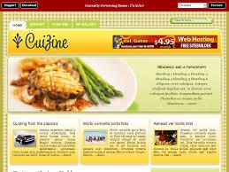 magazine cuisine gratuit themes