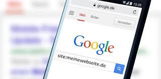 SiteAbfrage  Indexierte Seiten bei Google abfragen