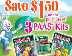 easter egg kits paas easter egg kits coupon save up to 1 50 on 3 paas kits