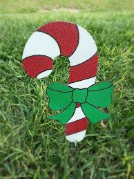 Candy Cane Outdoor Decorations 7 Candy Cane Yard Decorations Holiday Yard Art Candy Cane