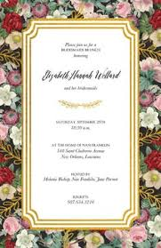 wedding luncheon invitations bridal luncheon invitations 100 designs printswell