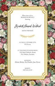 bridal luncheon bridal luncheon invitations 100 designs printswell