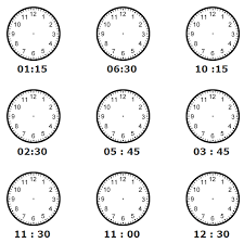 pictures on telling time worksheet wedding ideas