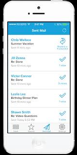Yahoo Business Email Iphone by Mailtracker Mobile Email Tracking