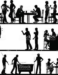 pubga e pub game silhouettes stock vector art 489340606 istock