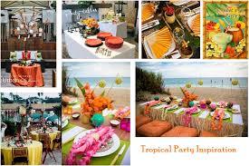 island themed wedding hawaiian bridal shower luau bridal showers and tropical bridal
