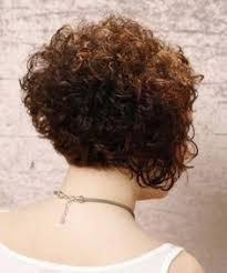 stacked in back brown curly hair pics short curly formal hairstyle dark brunette auburn hair color