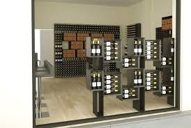 contemporary shelf wooden commercial wine esigo 5 floor