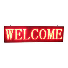lighted message board signs outdoor scrolling led sign board p10 red led moving message sign oem