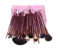 amazon com set of 24 megaga professional makeup cosmetic brush