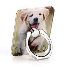acrylic lion ring holder images Phone ring holder mount for smart phone with cute dog jpg