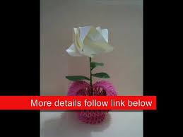 Origami 3d Flower Vase 3d Origami Heart Vase Video Dailymotion