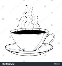 cup coffee childrens sketch stock vector 72994270 shutterstock