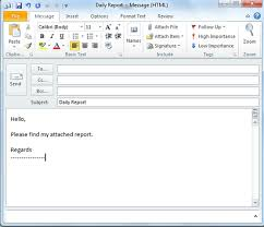 outlook 2010 productivity tip create canned email messages