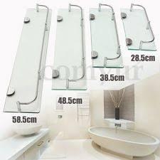 Glass Bathroom Shelves Glass Bathroom Shelf Home Furniture Diy Ebay