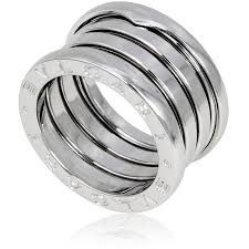 bvlgari rings images Bvlgari b zero1 4 band 18k white gold ring size 6 5 bvlgari jpg
