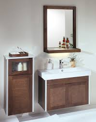 bathroom cool bathroom decoration using single oak wood small