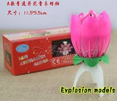 birthday candle flower new birthday party flower candle new lotus candles happy