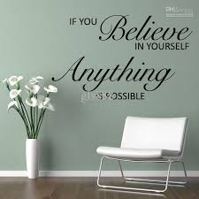 Wall Decor Stickers by Yw1041 Wall Quotes Decal Words Lettering Saying Wall Decor Sticker