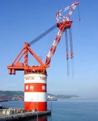 Pedestal Crane Great Lift Great Leap Yantai Raffles Kongsberg Maritime