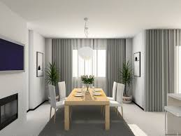 Modern Blinds For Living Room Curtains Modern Kitchen 3d Render Modern Sheer Curtains Enabled