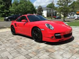 red porsche 911 porsche 911 turbo for sale 2007 guards red