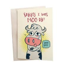 cow greeting cards moody cow greeting souza