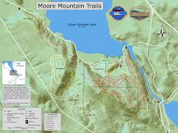Snowmobile Trail Maps Michigan by Trail Maps Klamath Trails Alliance