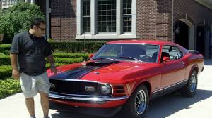 All Black Mustang For Sale 1970 Ford Mustang Mach 1 Classic Muscle Car For Sale In Mi